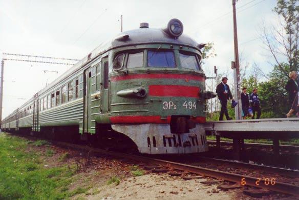 Городскую электричку с Троещины на Петровку запустят 2 сентября.